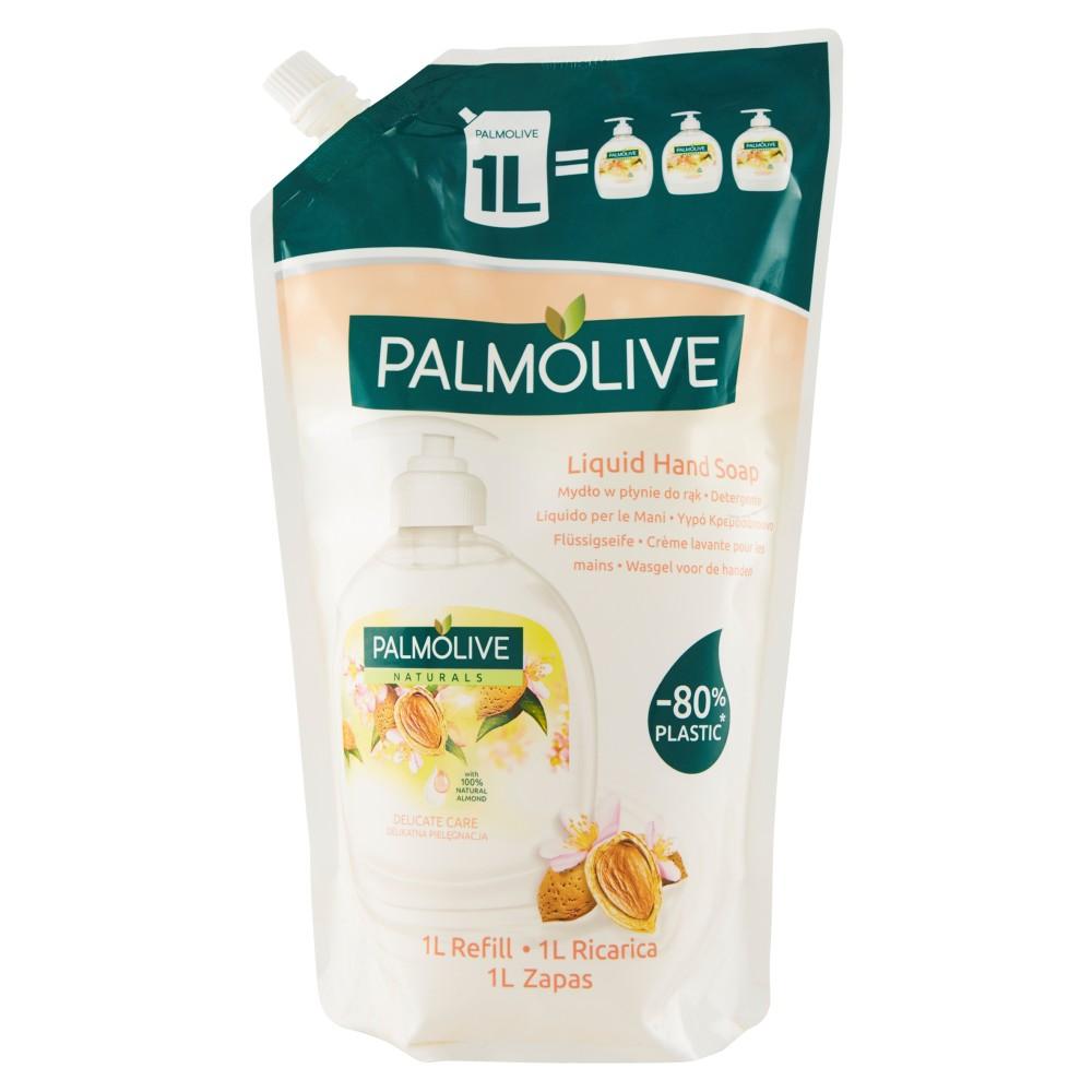 Palmolive Naturals Latte e Mandorla Detergente Liquido per le Mani Ricarica