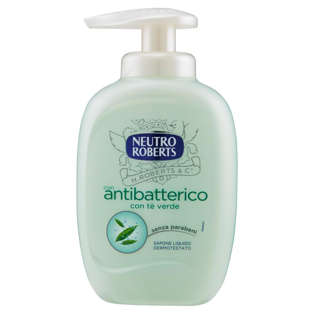 Neutro Roberts con antibatterico con tè verde Sapone Liquido Dermotestato