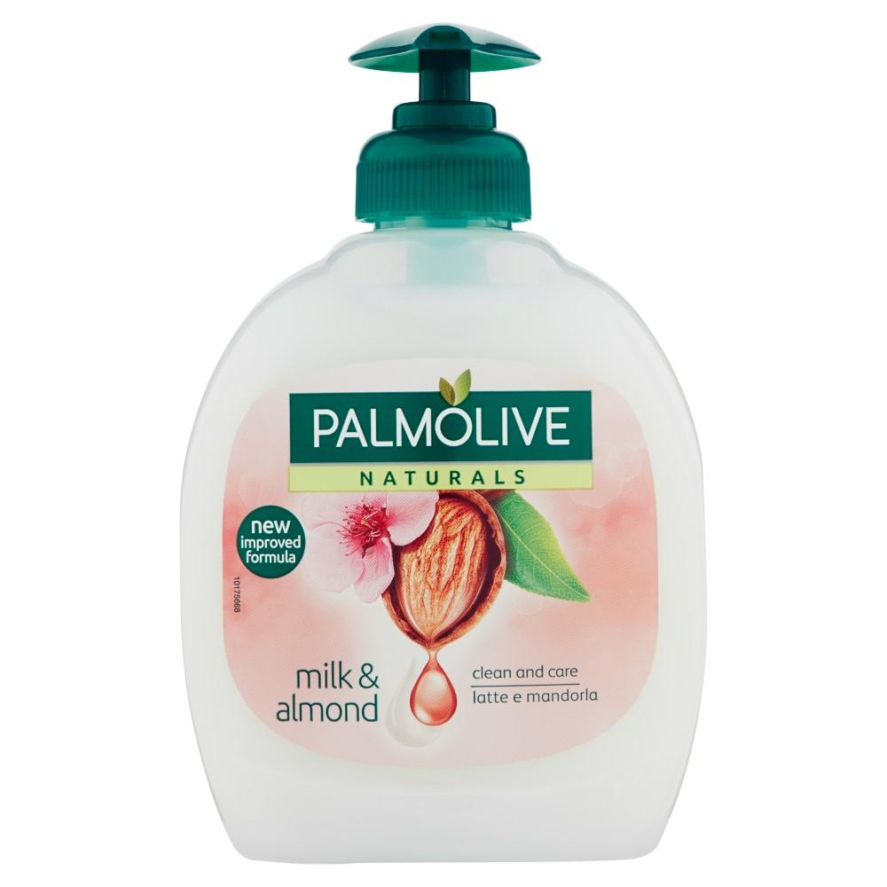 Palmolive Naturals Latte e Mandorla Detergente Liquido per le Mani