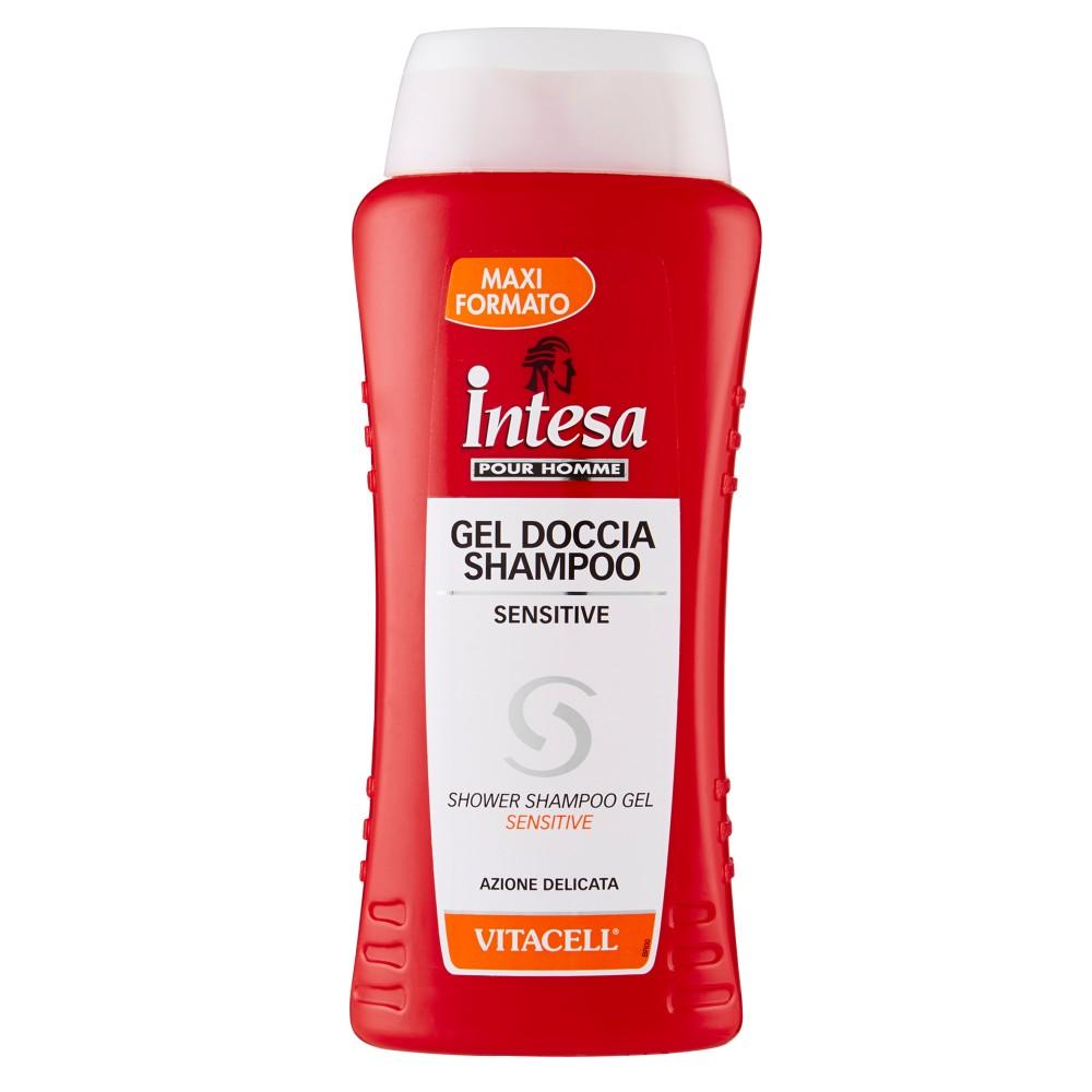 Intesa Pour Homme Gel Doccia Shampoo Sensitive Vitacell