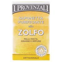I Provenzali Saponetta Purificante allo Zolfo Pelli Miste, Grasse e Impure