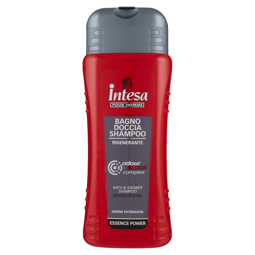 Intesa Pour Homme Bagno doccia shampoo rigenerante essence power