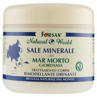 Forsan Natural World Sale Minerale del Mar Morto Giordania Trattamento Corpo