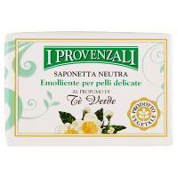 I Provenzali Saponetta Neutra al Profumo di Tè Verde