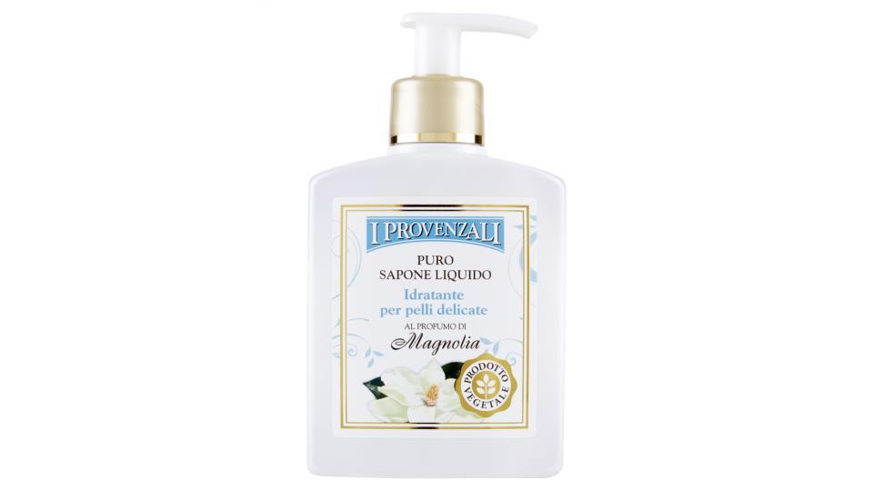 I Provenzali Puro Sapone Liquido Idratante per pelli delicate al Profumo di Magnolia