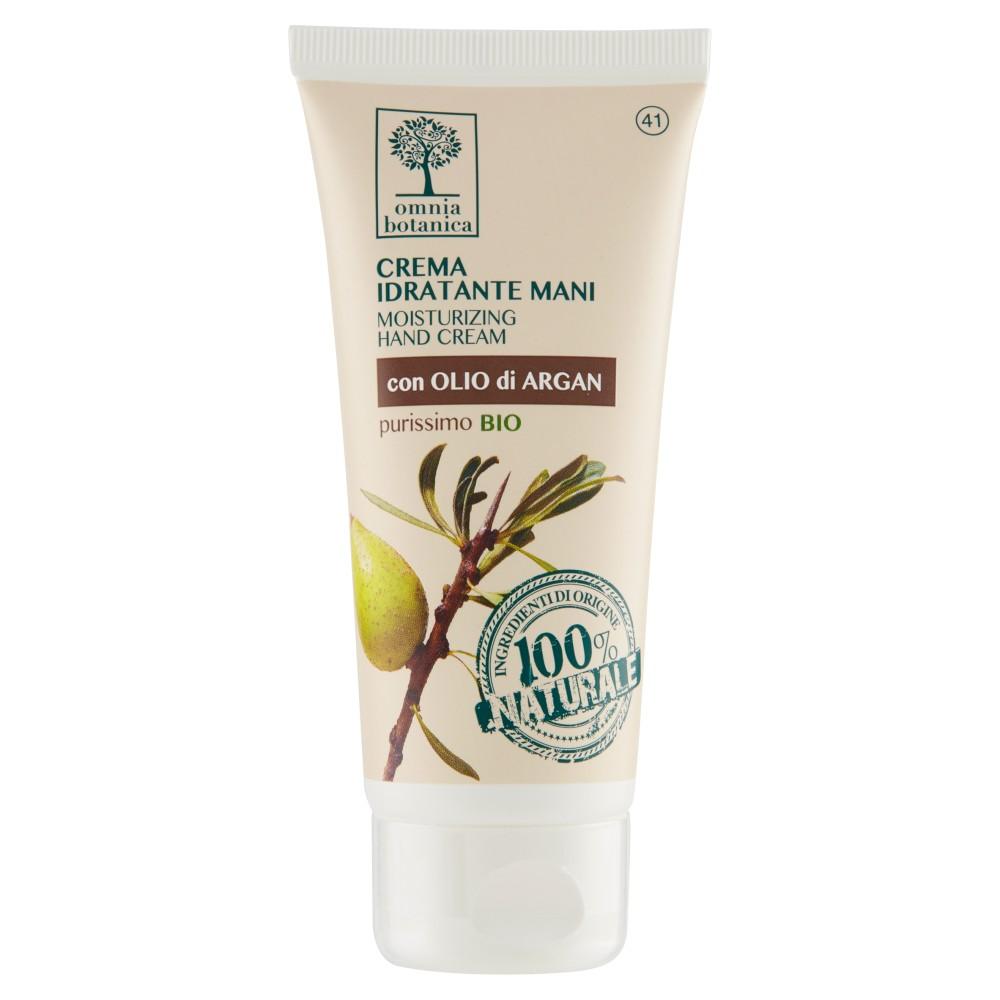 omnia botanica Crema Idratante Mani con Olio di Argan purissimo Bio