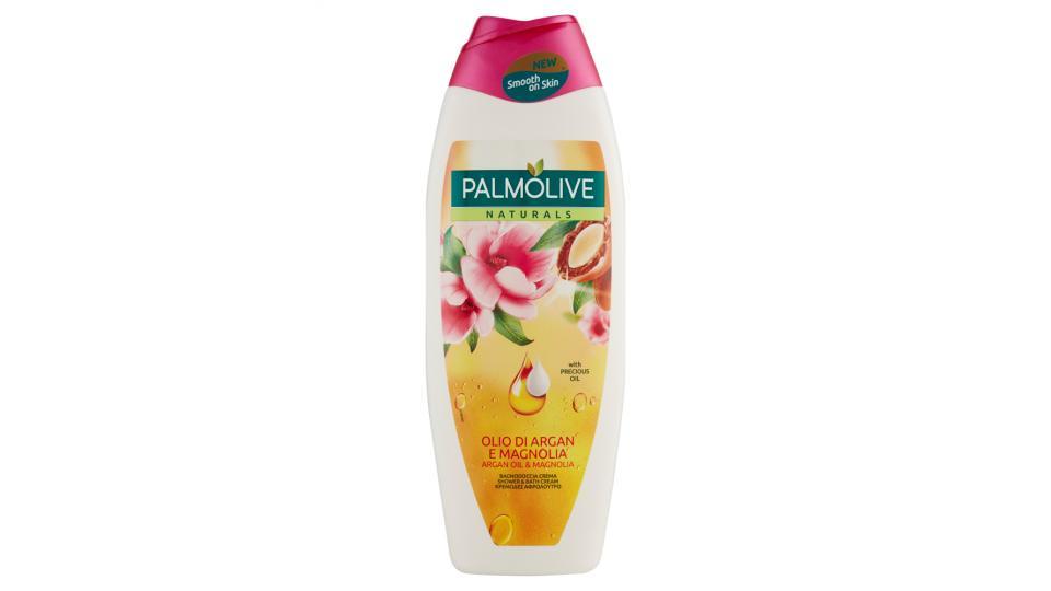 Palmolive Naturals Olio Di Argan E Magnolia Bagnodoccia Crema