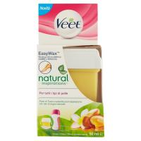 Veet Easy Wax Ricarica roll-on elettrico natural inspirations Per tutti i tipi di pelle