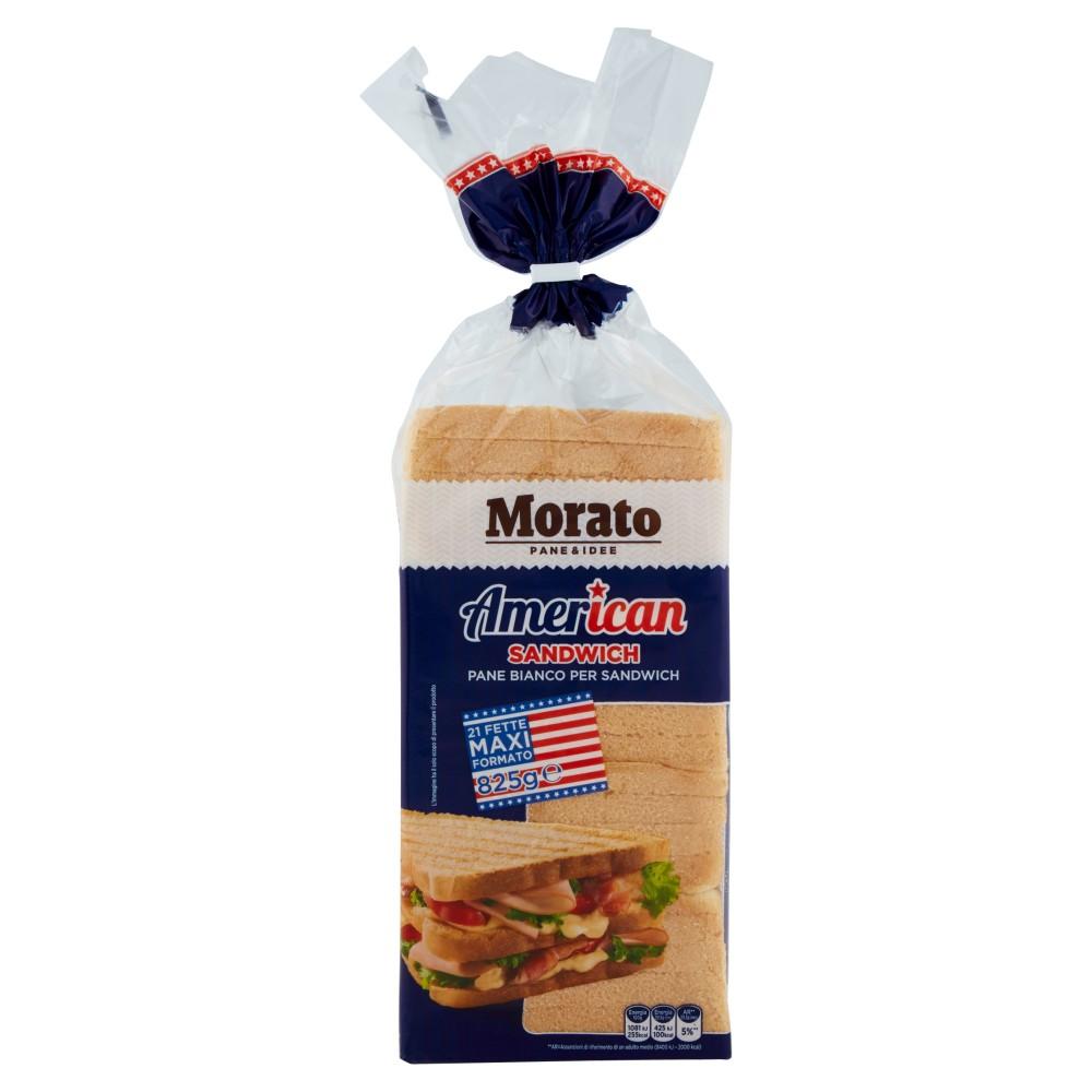 Morato American Pane Bianco Sandwich