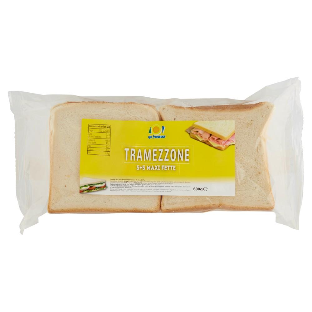 Qui Sardegna Tramezzone 5+5 Maxi Fette