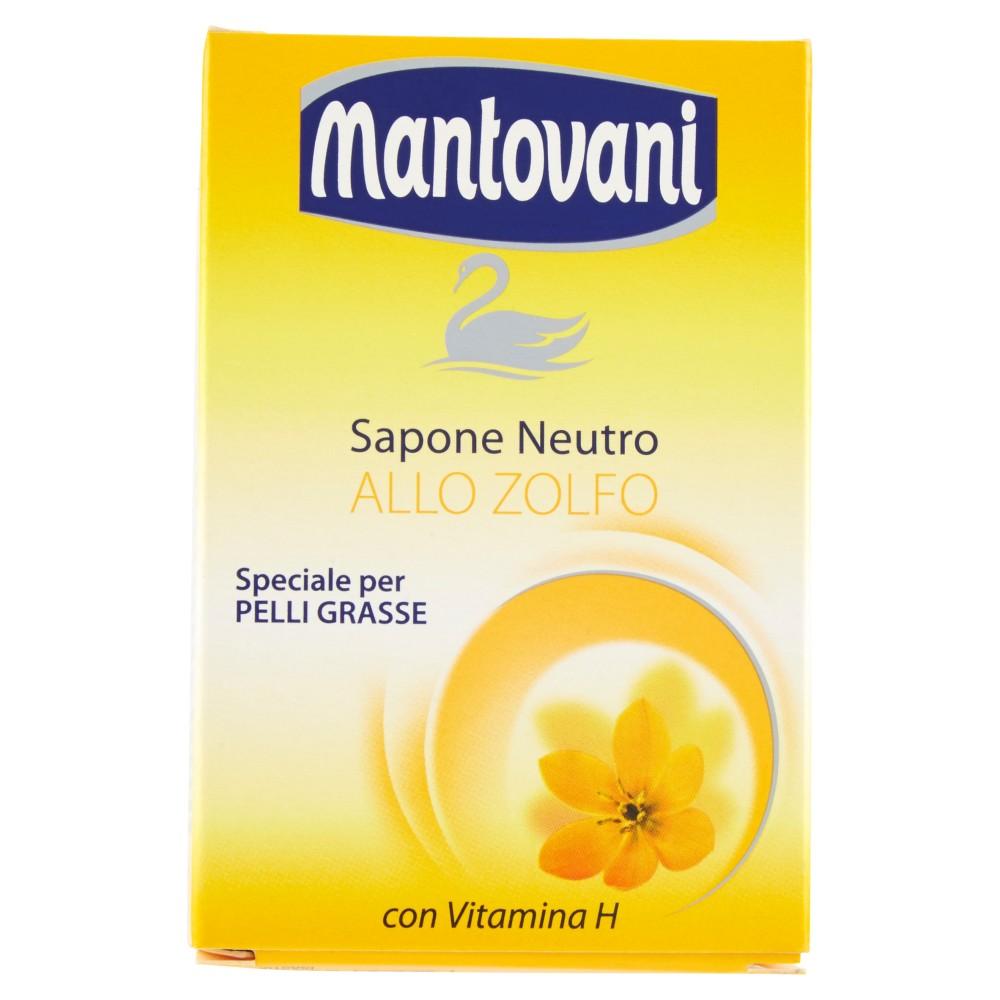 mantovani Sapone Neutro allo Zolfo Speciale per Pelli Grasse