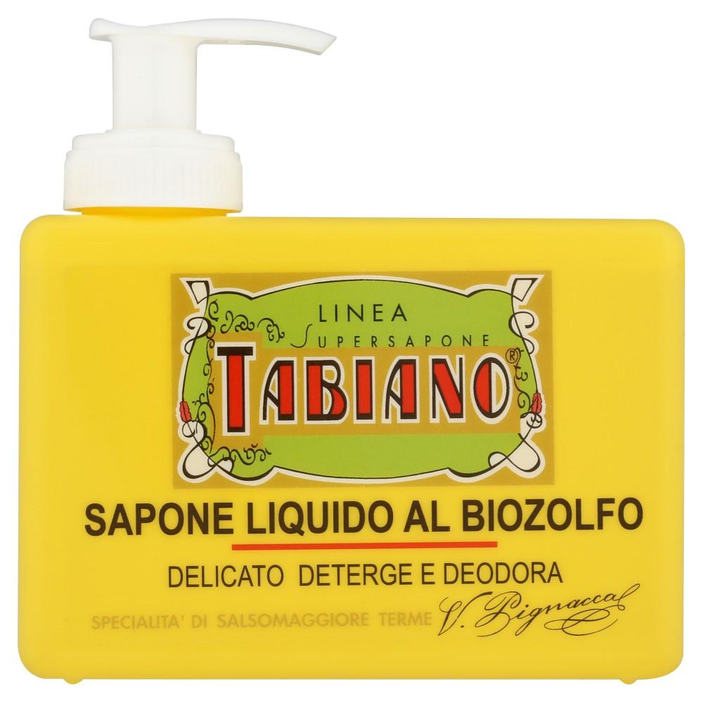 Pilogen Carezza Linea Supersapone Tabiano Sapone liquido al biozolfo
