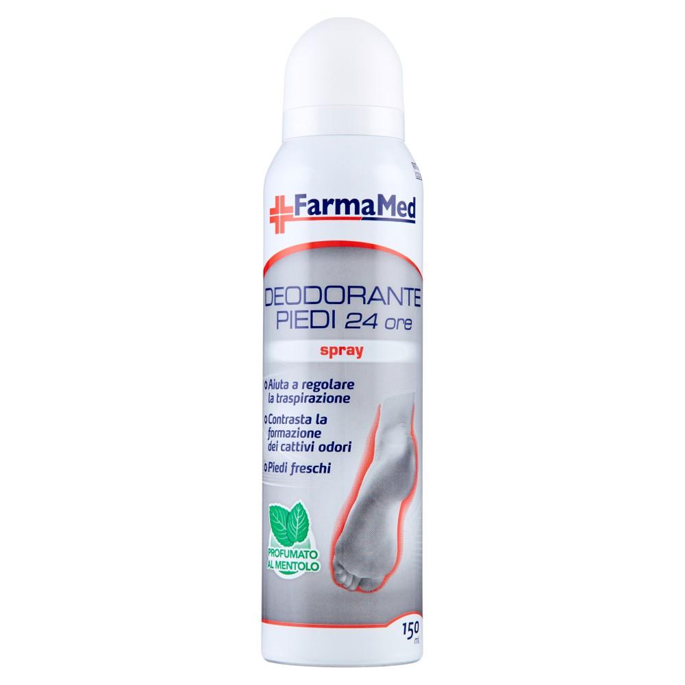 FarmaMed Deodorante Piedi 24 ore spray