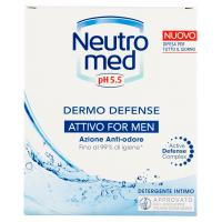 Neutromed pH 5.5 Dermo Defense Attivo For Men Detergente Intimo