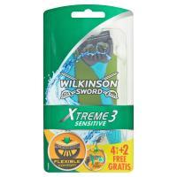 Wilkinson Sword Xtreme3 sensitive 4 +
