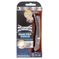 Wilkinson Sword Quattro titanium precision 3 in