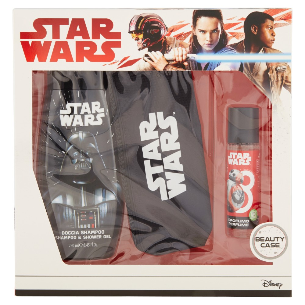 Gift Set Disney Star Wars Doccia Shampoo 250ml +Profumo