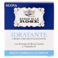 Acqua alle Rose Idratante Crema Viso Rivitalizzante Pelli Normali o Miste
