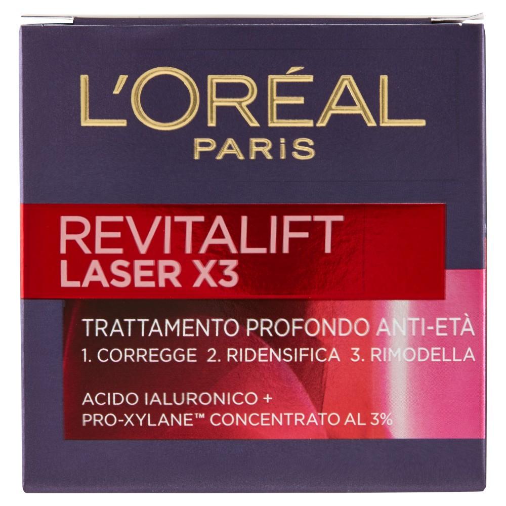 L'Oréal Paris Revitalift Laser X3 Trattamento Profondo Anti-Età