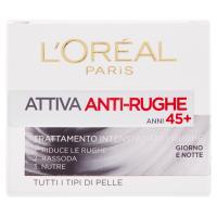 L'Oréal Paris Attiva Anti-Rughe Trattamento intensivo anti-rughe anni 45+ giorno e notte