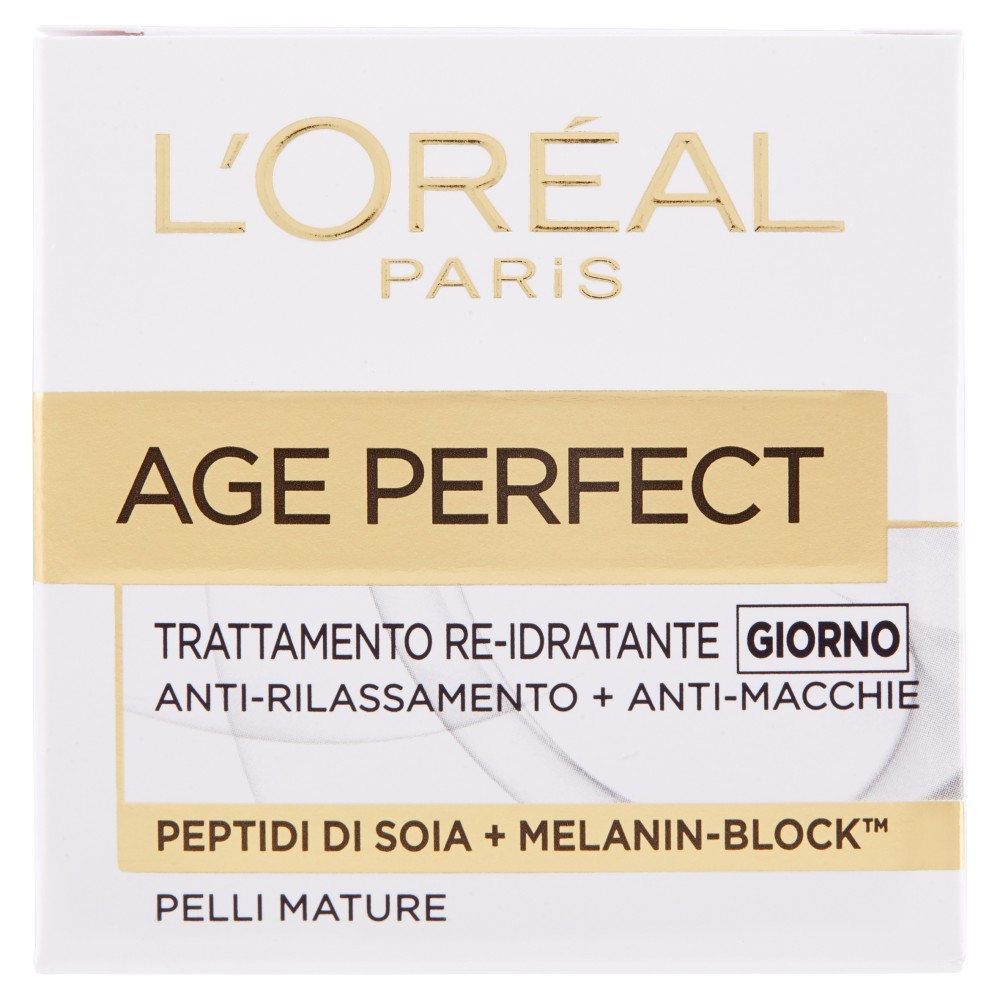 L'Oréal Paris Age Perfect Trattamento re-idratante giorno pelli mature