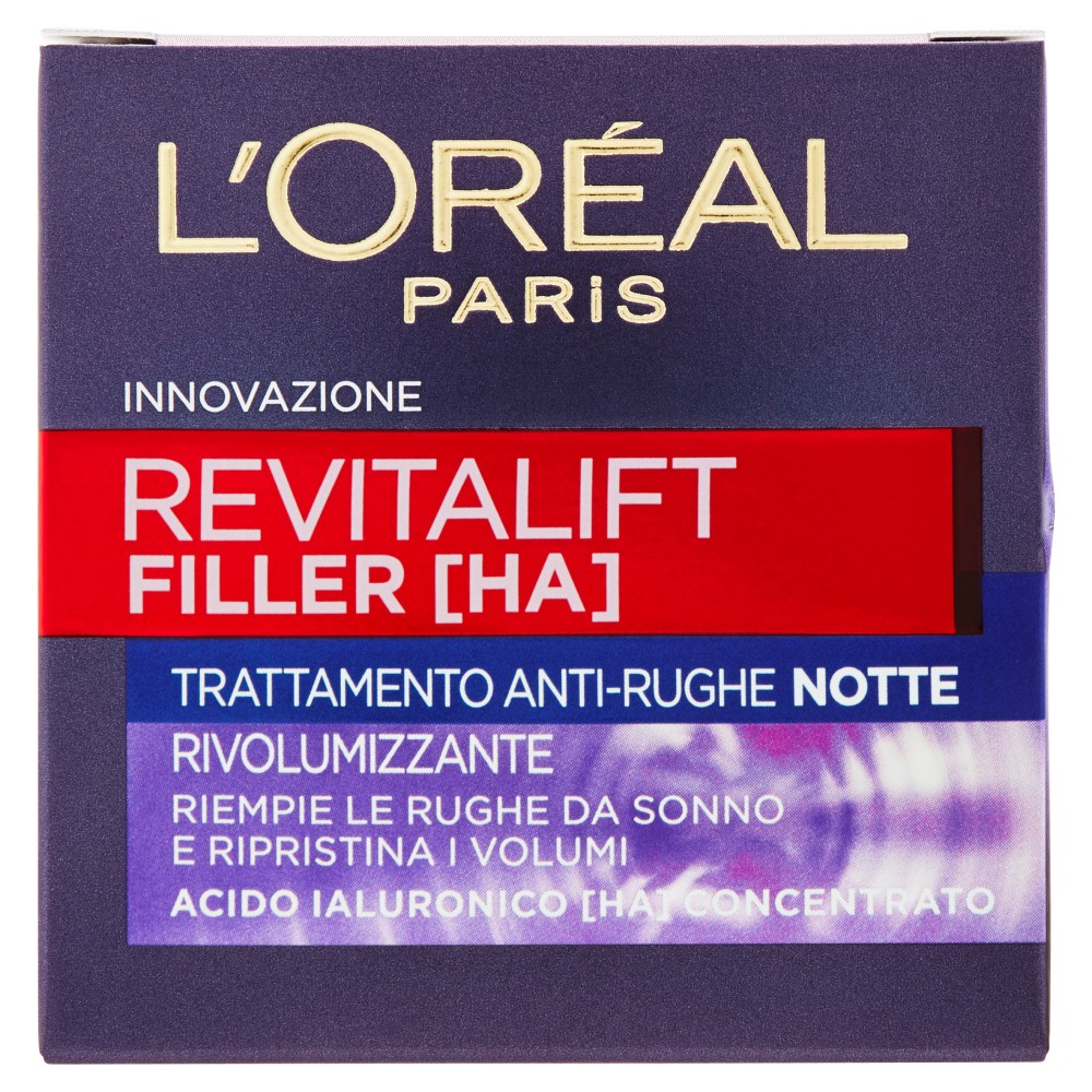 L'Oréal Paris Revitalift Filler [HA] Trattamento Anti-Rughe Notte