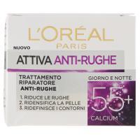 L'Oréal Paris Attiva Anti-Rughe 55+ Trattamento Riparatore Anti-Rughe Giorno e Notte