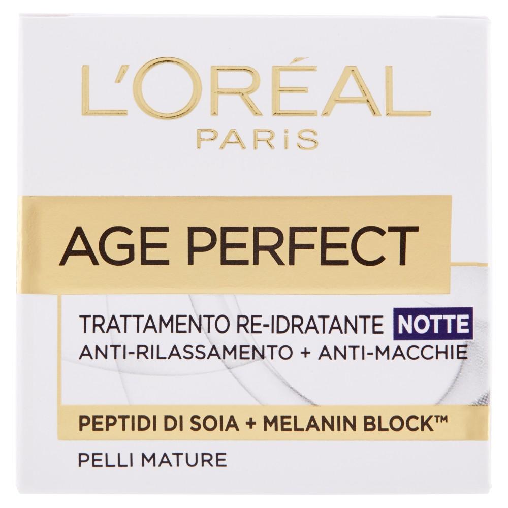 L'Oréal Paris Age Perfect Trattamento re-idratante notte pelli mature
