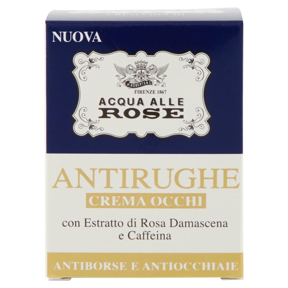 Acqua alle Rose Antirughe Crema Occhi Antiborse e Antiocchiaie