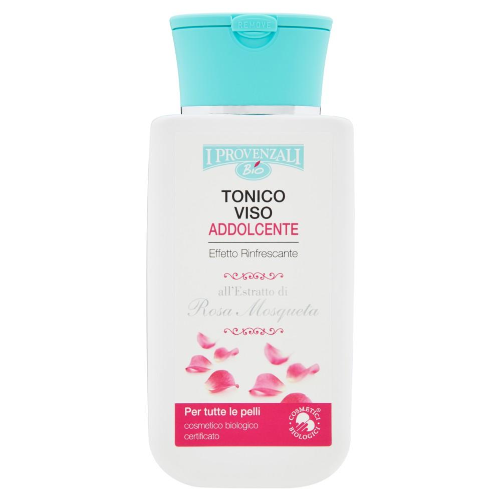 I Provenzali Bio Tonico Viso Addolcente all'Estratto di Rosa Mosqueta per tutte le pelli