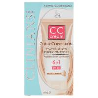 Clinians CC cream color correction 6 in 1 SPF 15 medio chiara