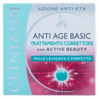 Clinians Anti age basic Trattamento correttore con active beauty