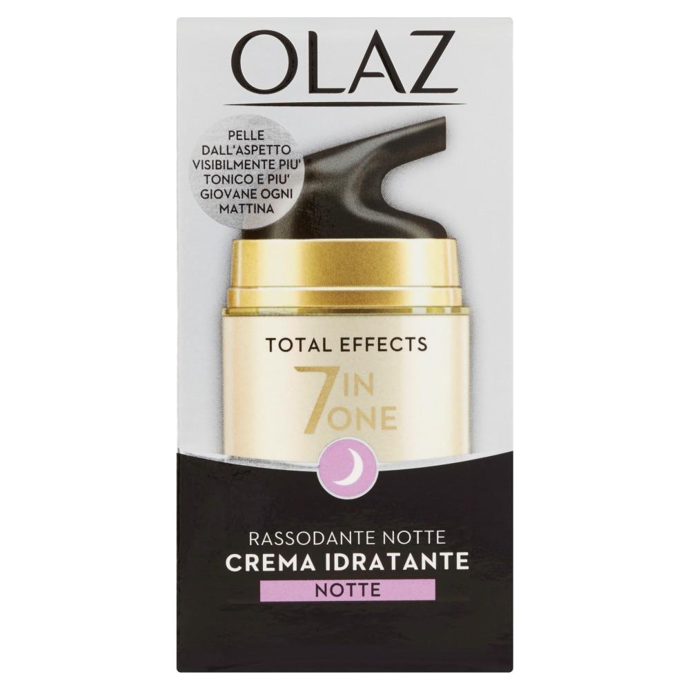 Olaz Total Effects 7 in One Crema Notte Idratante Rassodante