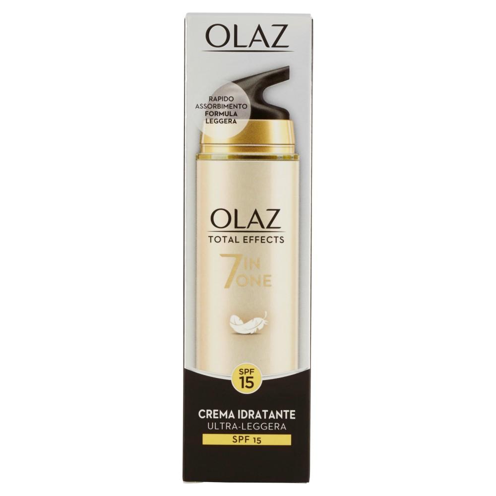 Olaz Total Effects 7 In One - Crema Idratante Ultra Leggera - SPF 15