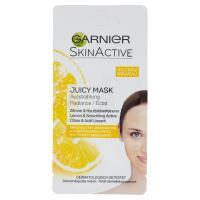 Garnier maschera viso monodose illuminante esfoliante con Estratto di Limone per pelli spente