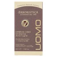 l'Erboristica Uomo Crema Viso Idratante Anti-rughe Acido Ialuronico + Vitamina B5