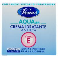 Venus Aqua 24 Crema Idratante Antietà Vitamina E