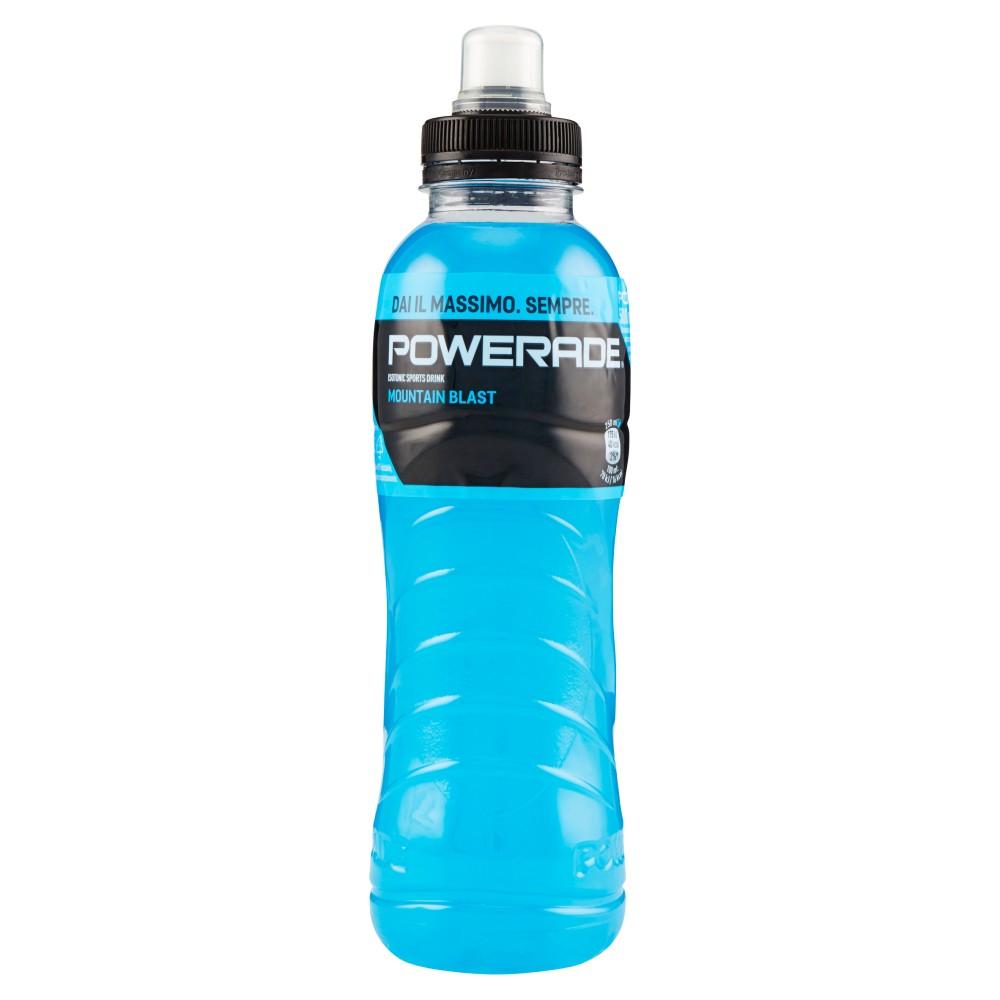 Powerade sport drink mountain blast bottiglia di plastica