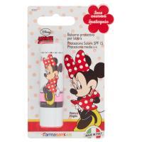 Farmasan Kids Balsamo protettivo per labbra panna e fragola Disney Minnie Mouse