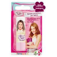 Farmasan Kids Balsamo protettivo per labbra viola vaniglia Disney Violetta