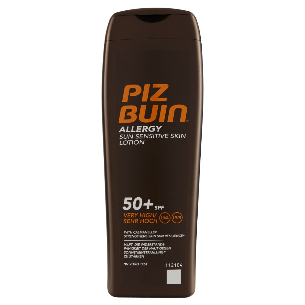 Piz Buin Allergy sun sensitive skin lotion 50+ SPF