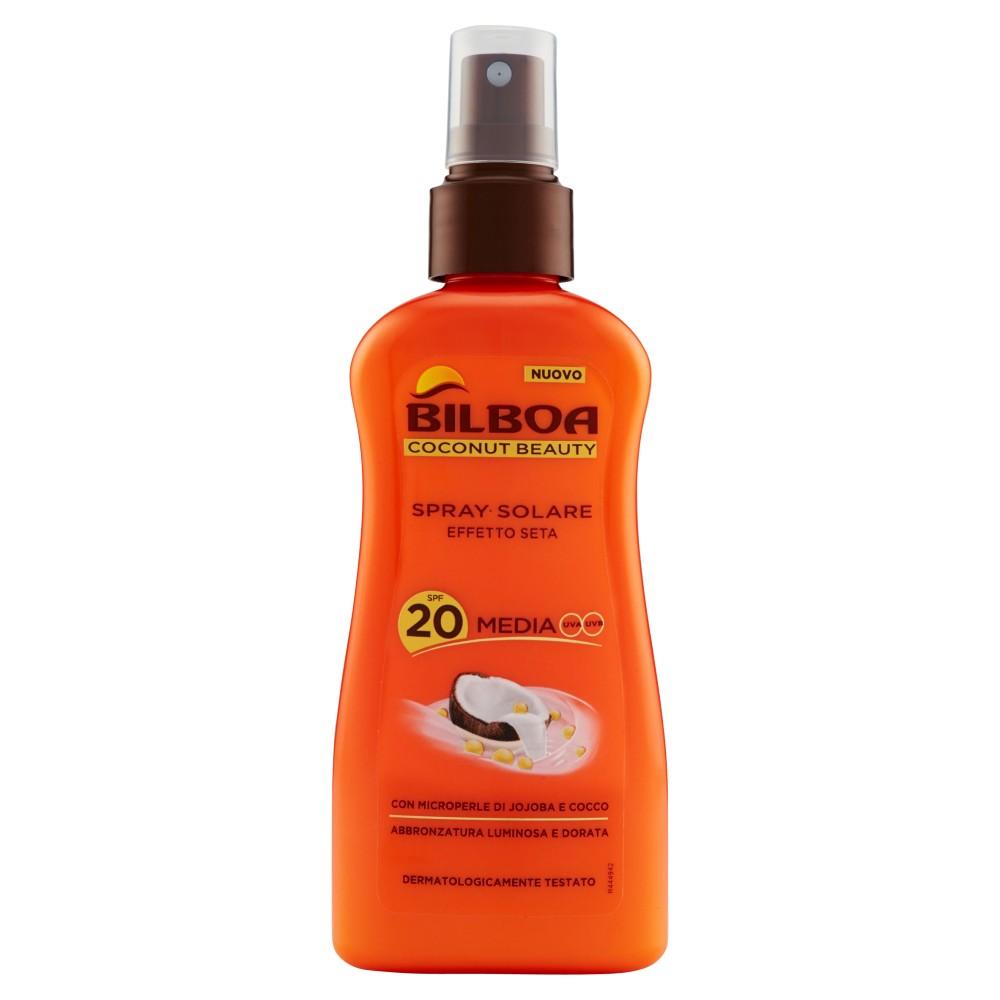 Bilboa Coconut Beauty Spray Solare SPF 20 Media