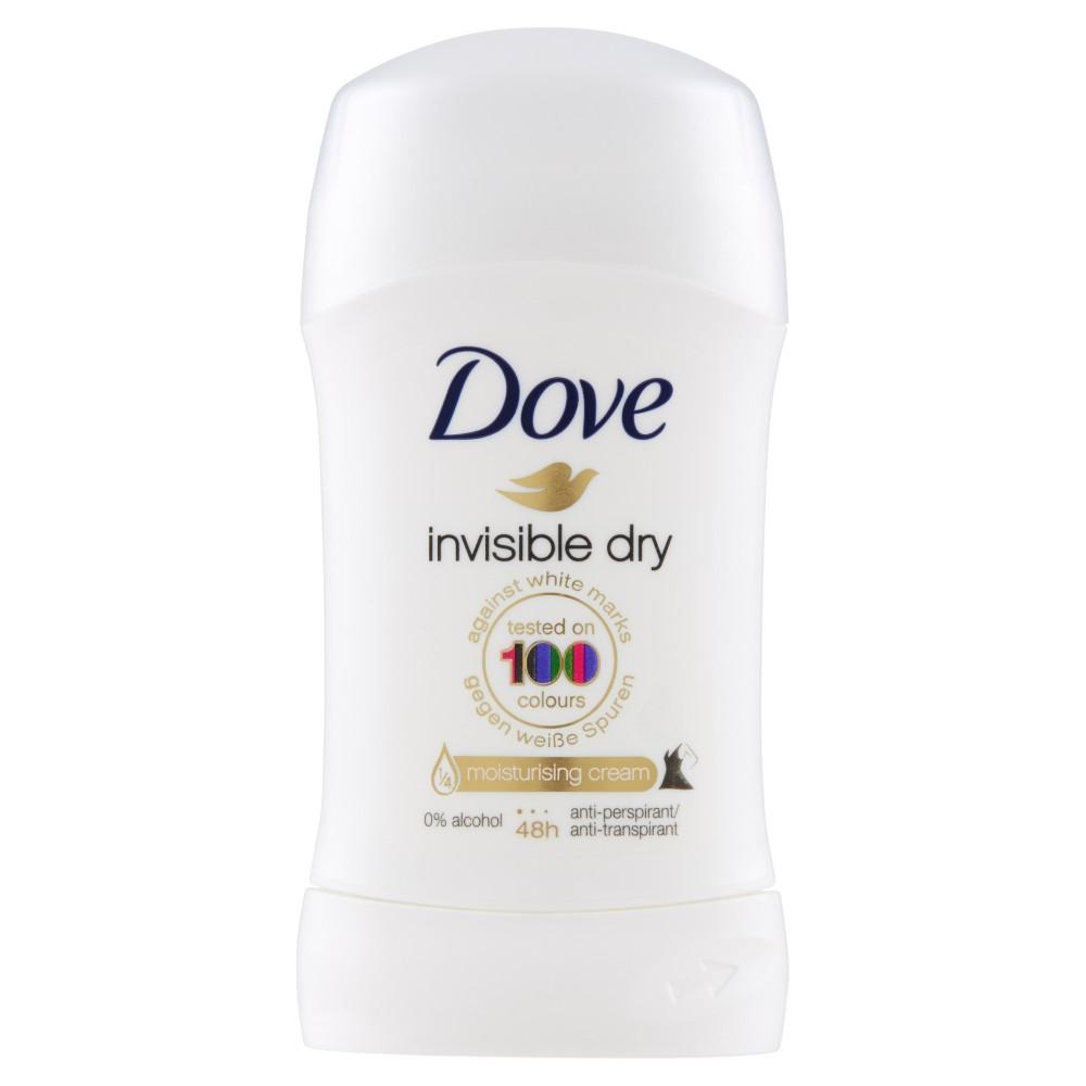 Dove Deodorante invisible dry stick