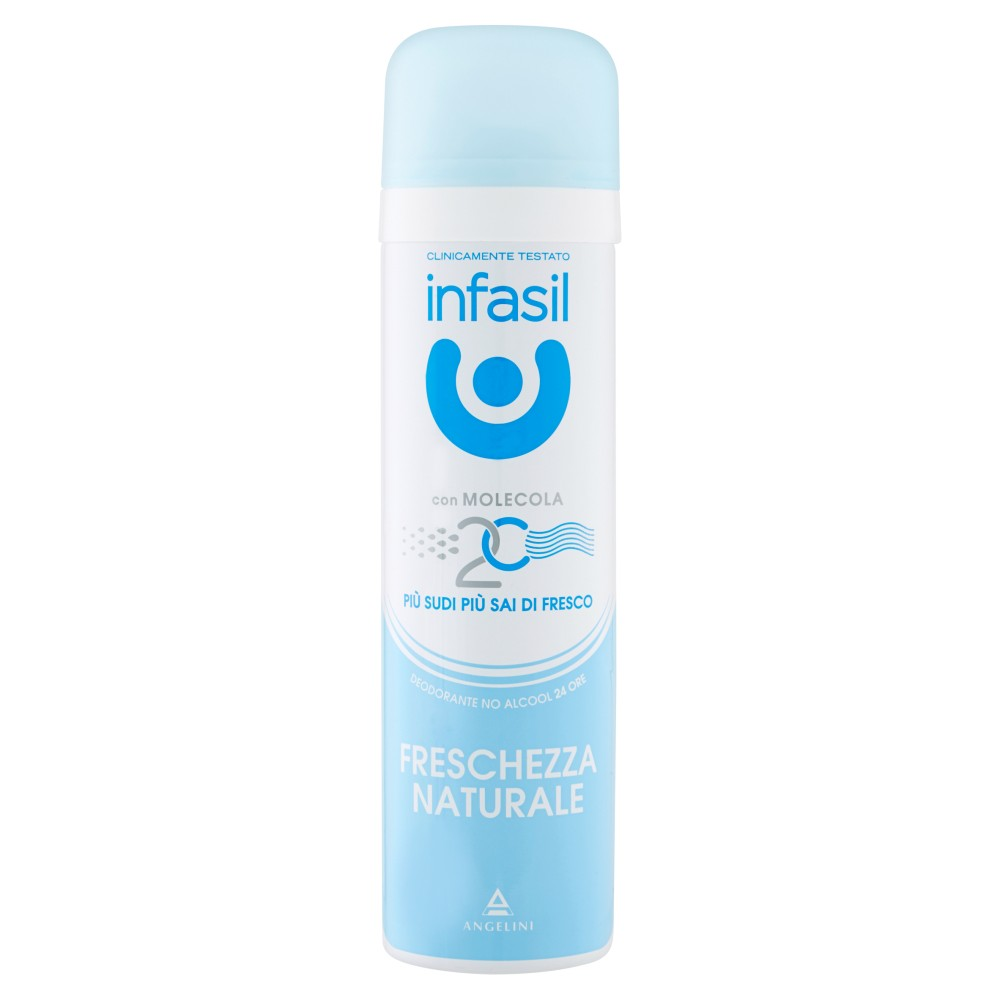 Infasil Freschezza naturale deodorante spray