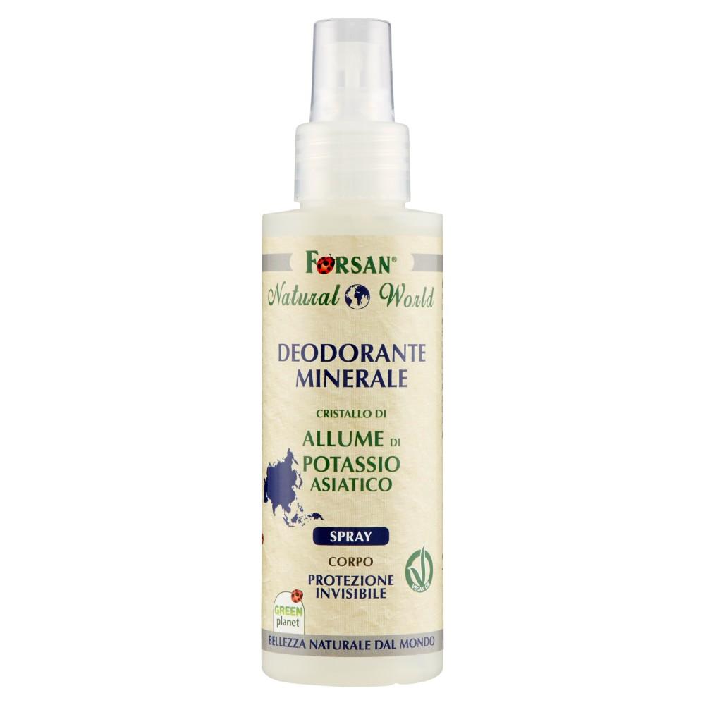 Forsan Natural World Deodorante Minerale Spray