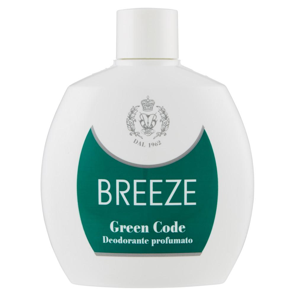 Breeze Green Code Deodorante profumato