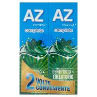 AZ Ricerca Dentifricio Complete+Collutorio Freschezza Delicata