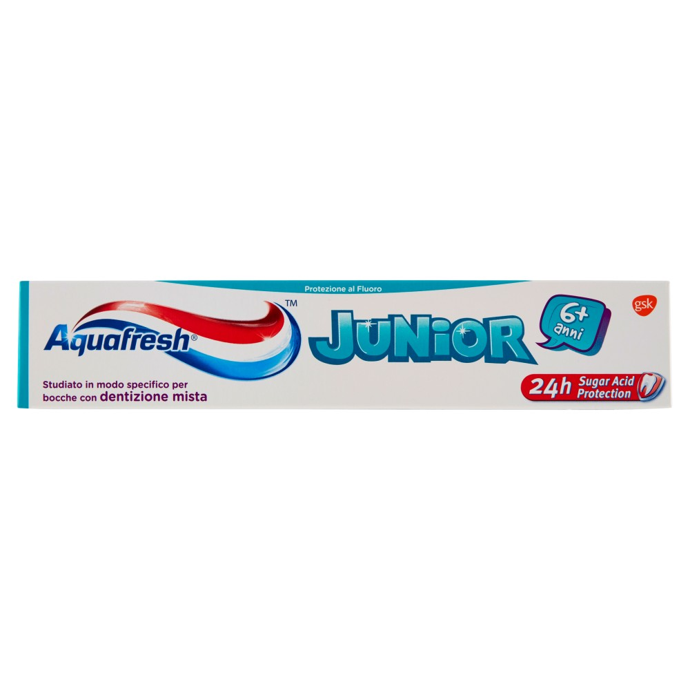 Aquafresh Junior 6+ anni