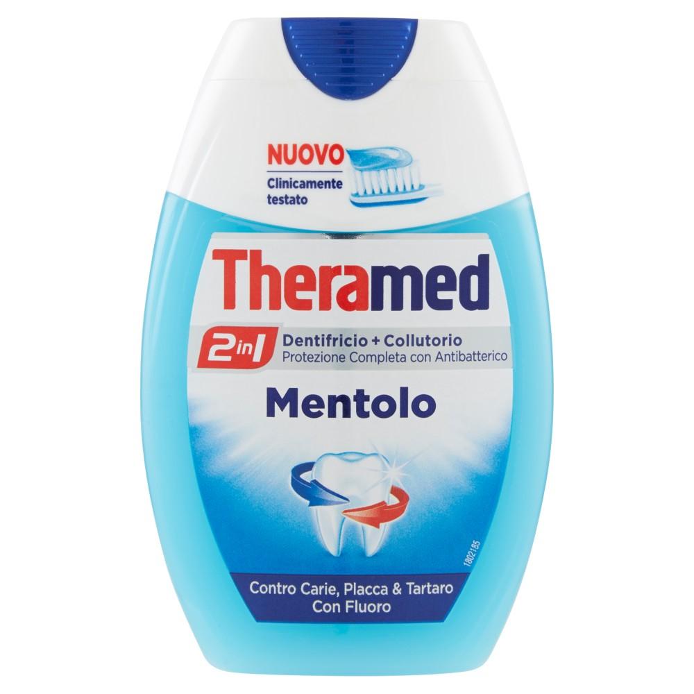 Theramed 2in1 Dentifricio+collutorio mentolo