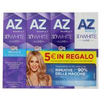 AZ Ricerca Dentifricio 3D White Luxe - 3 Protezione Brillante + 1 Perfezione